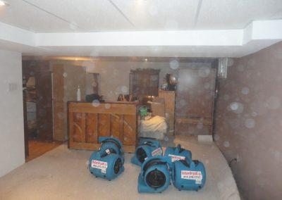 Water Damage & Restoration Job