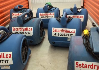 Equipment Rental for Water Damage